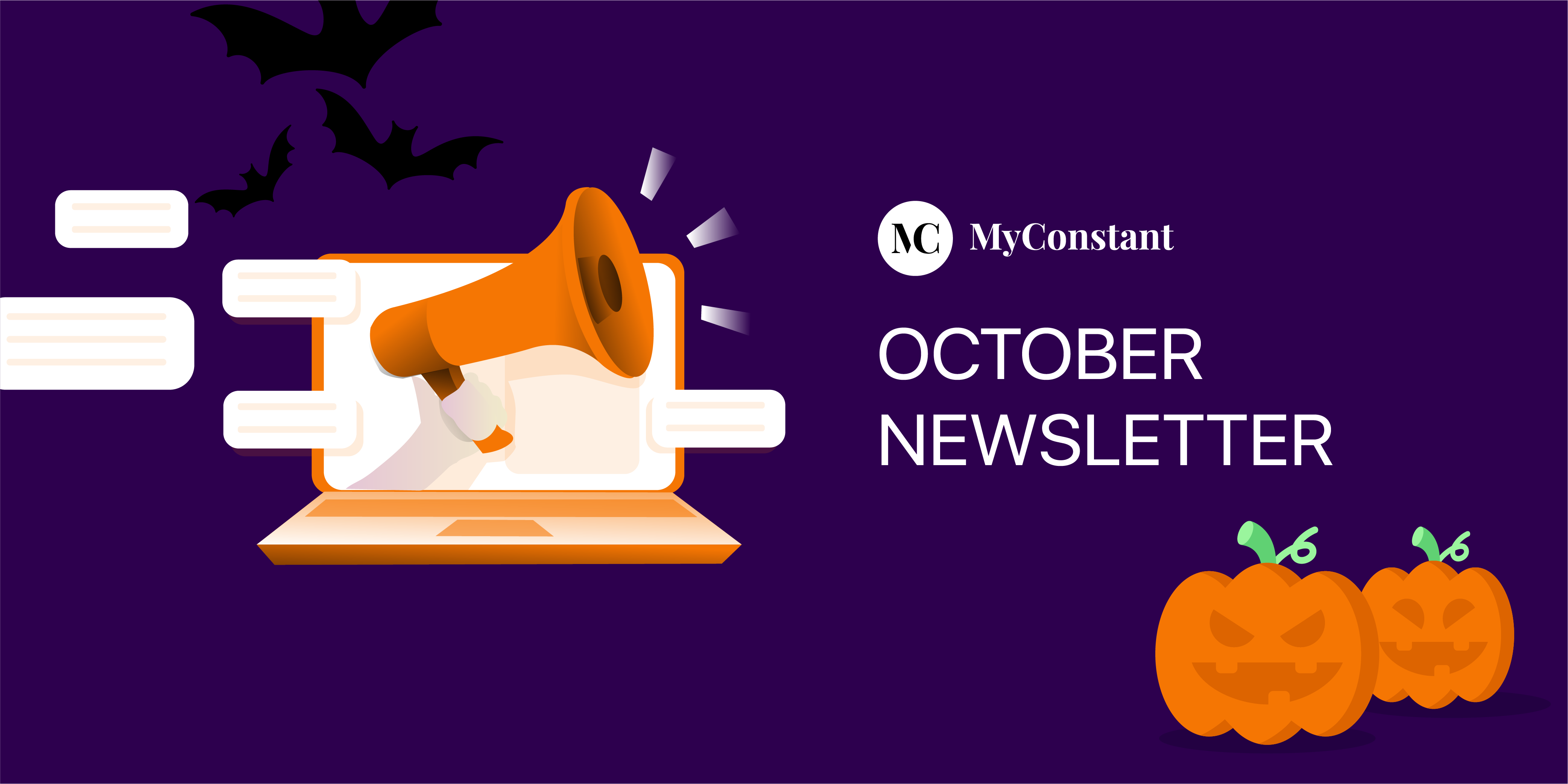 The MyConstant October newsletter 2020