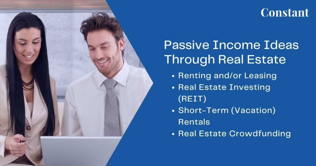 Owning property gives you a wealth of new passive income opportunities to build even more revenue streams for yourself