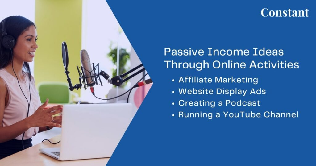 The key to success with different ways of passive income generation online is to bring in traffic-- steadily and sustainably