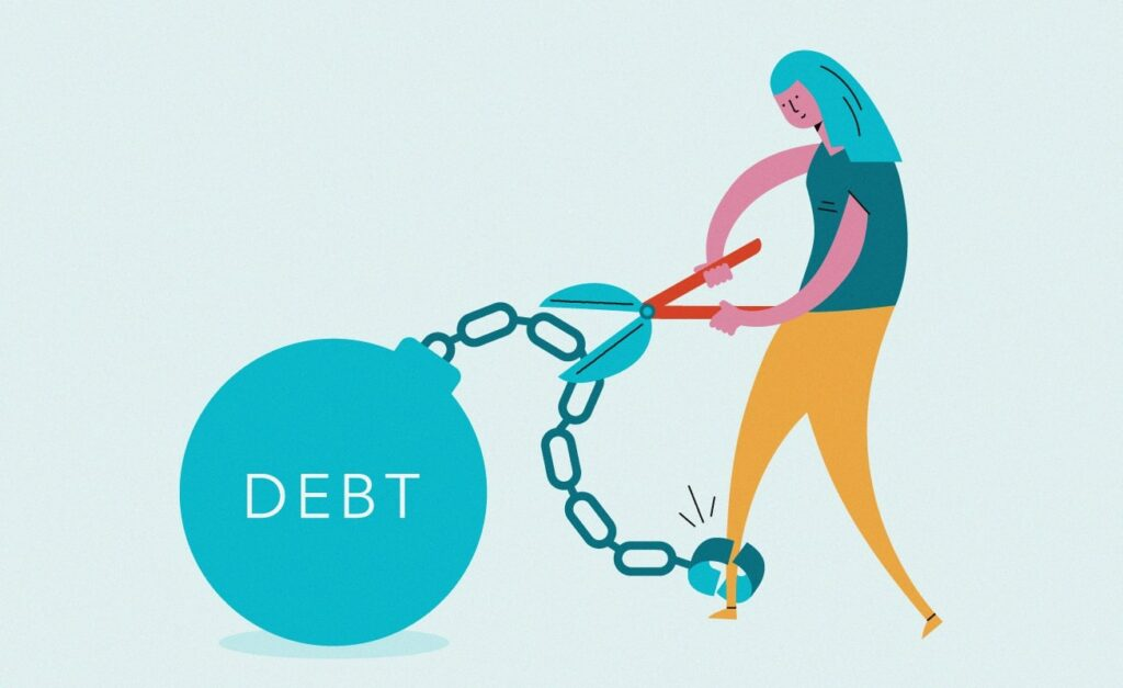 We've all been tempted to pretend debt doesn't exist, but it's not recommended
