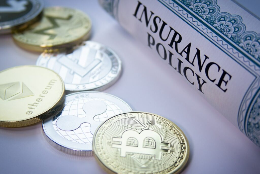 Some exchanges offer a limited insurance policy on held crypto assets