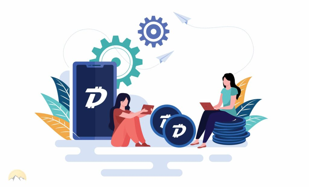 A quick review of the DigiByte coin's blockchain highlights the quick transaction speeds on the network