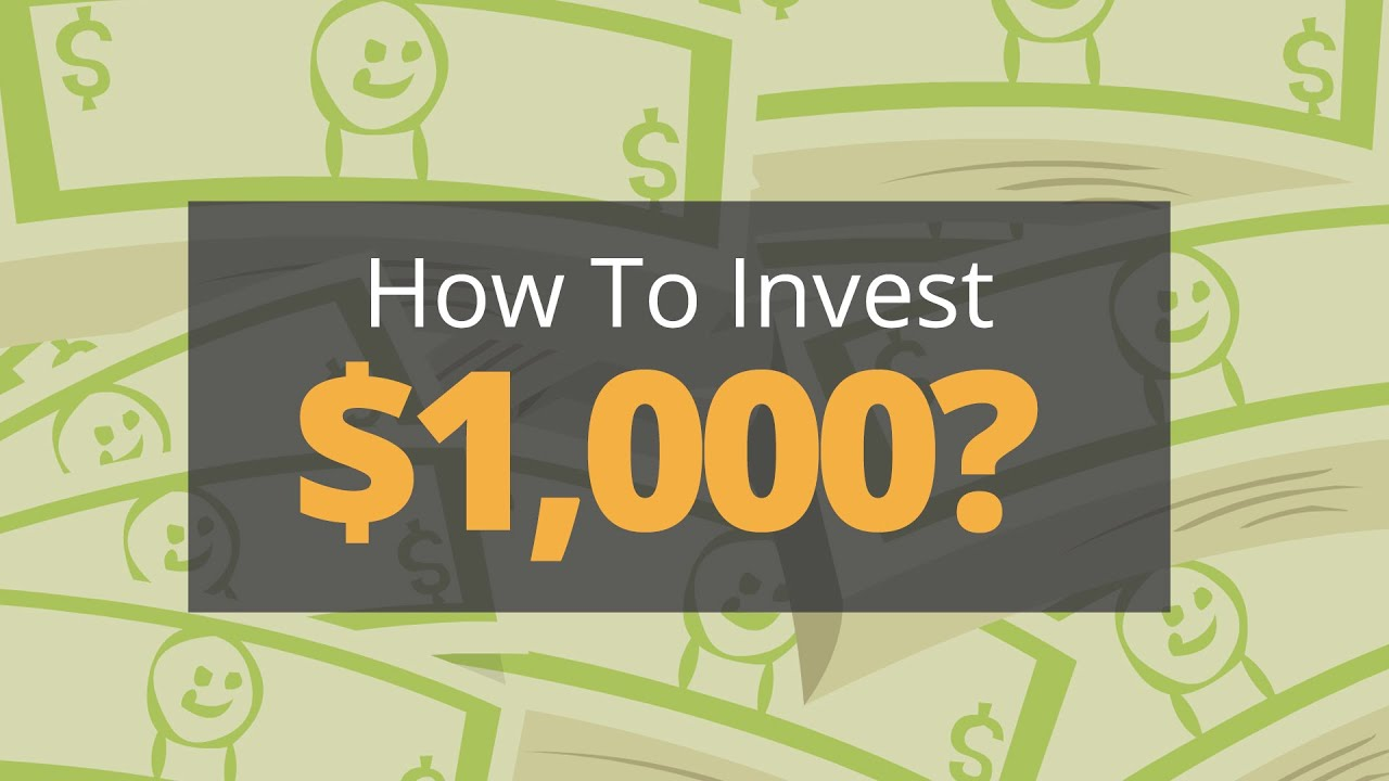 How to invest $1,000 like a Pro