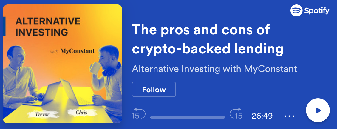 The pros and cons of crypto-backed lending