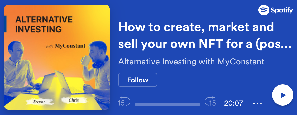 How to create, market and sell your own NFT for a (possible) tidy profit