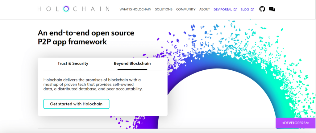 Holochain's developers hope to make the perfect environment for launching decentralized applications.