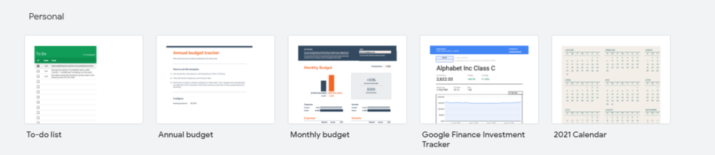 GoogleSheets is a surprising contender for the title of best portfolio tracker app.