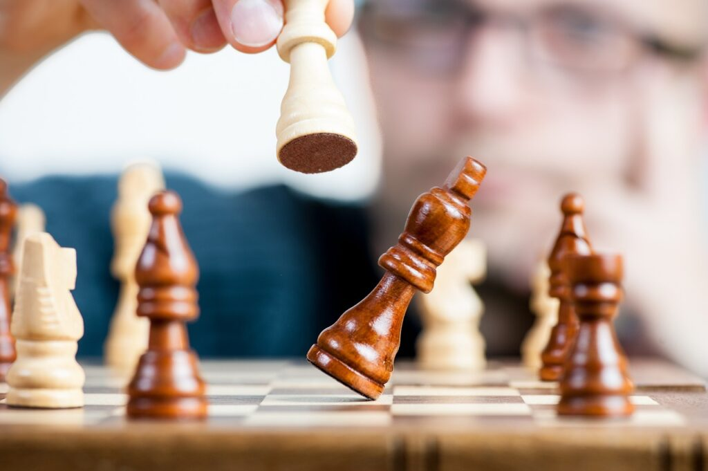 Smart players will know the lottery isn't like chess. There's no strategy or skill involved.